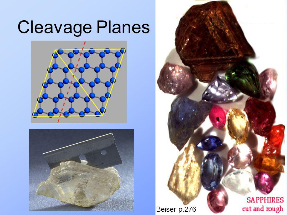 Cleavage Planes Beiser p.276