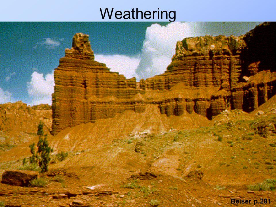Weathering Beiser p.281