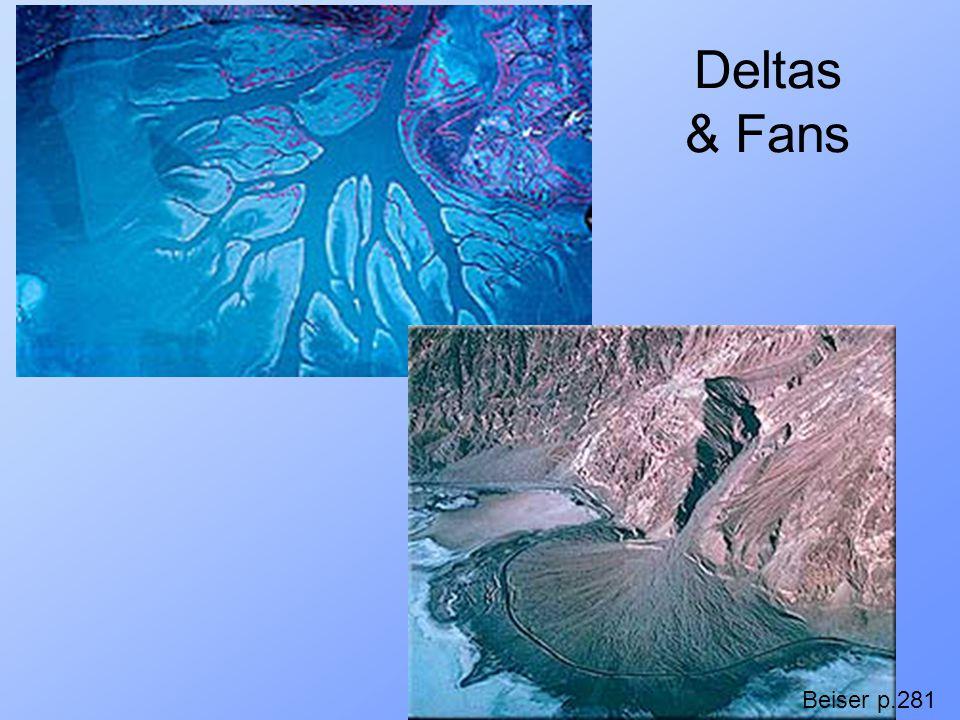 Deltas & Fans Beiser p.281