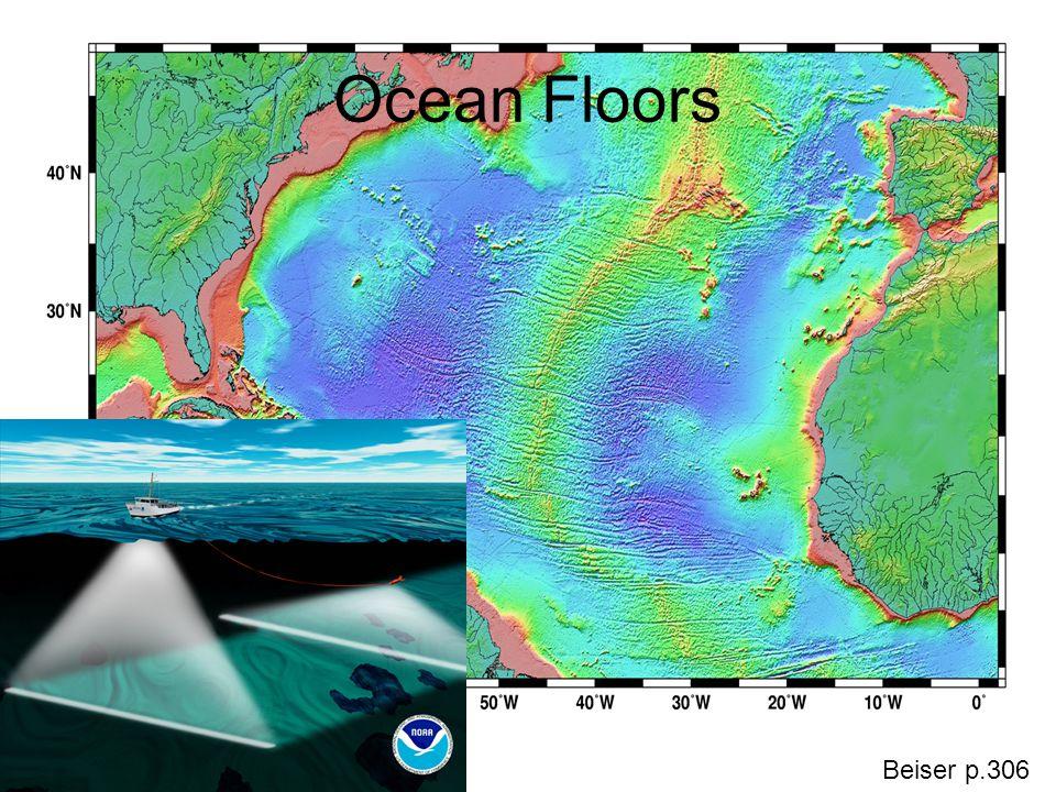 Ocean Floors Beiser p.306