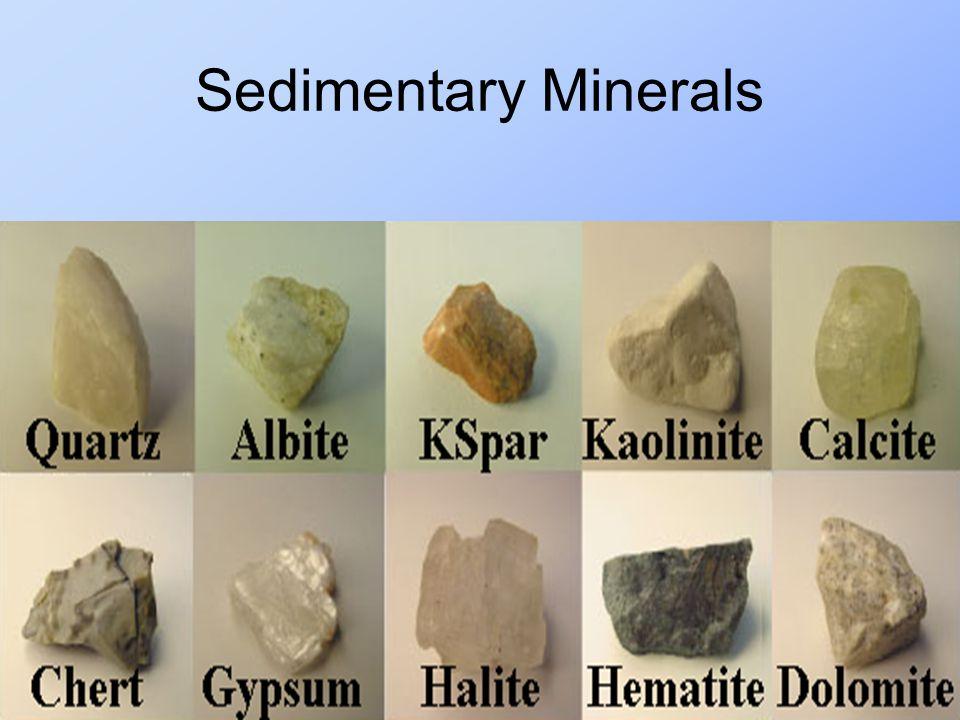 Sedimentary Minerals