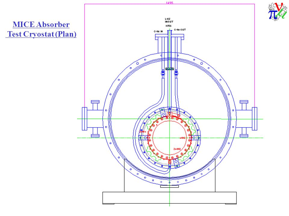 MICE Absorber Test Cryostat (Plan)