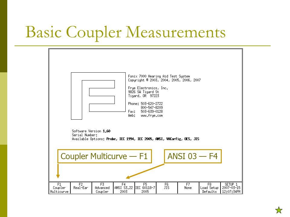 Basic Coupler Measurements ANSI 03 — F4Coupler Multicurve — F1