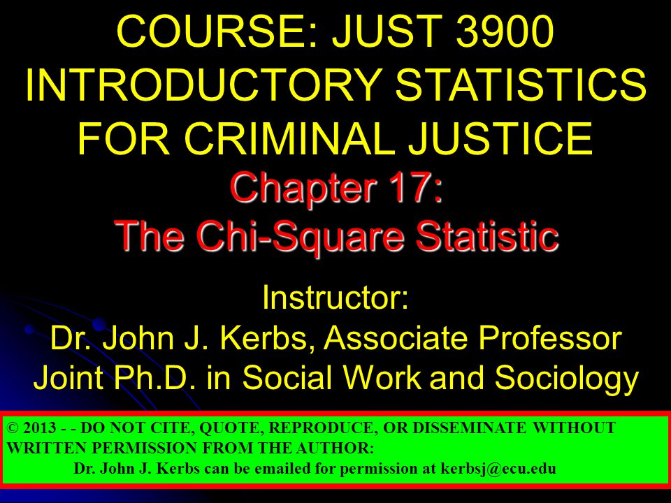 Parametric & Nonparametric Tests Chapter 17 introduces two non-parametric hypothesis tests using the chi-square statistic: Chapter 17 introduces two non-parametric hypothesis tests using the chi-square statistic: the chi-square test for goodness of fit the chi-square test for goodness of fit the chi-square test for independence.