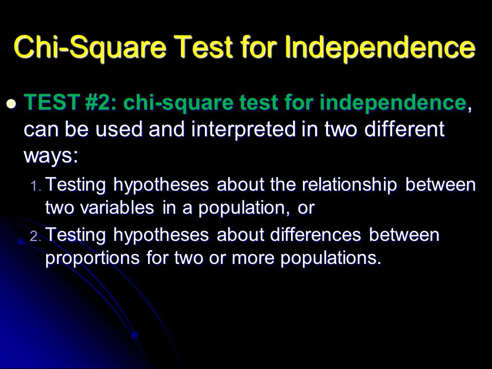 4-Step Chi-Square Test Goodness of Fit Step 1: Step 1: State the hypotheses and select the α level.