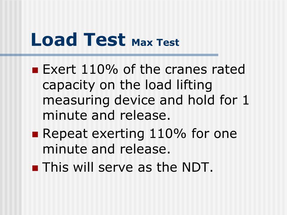 Load Test Max Test