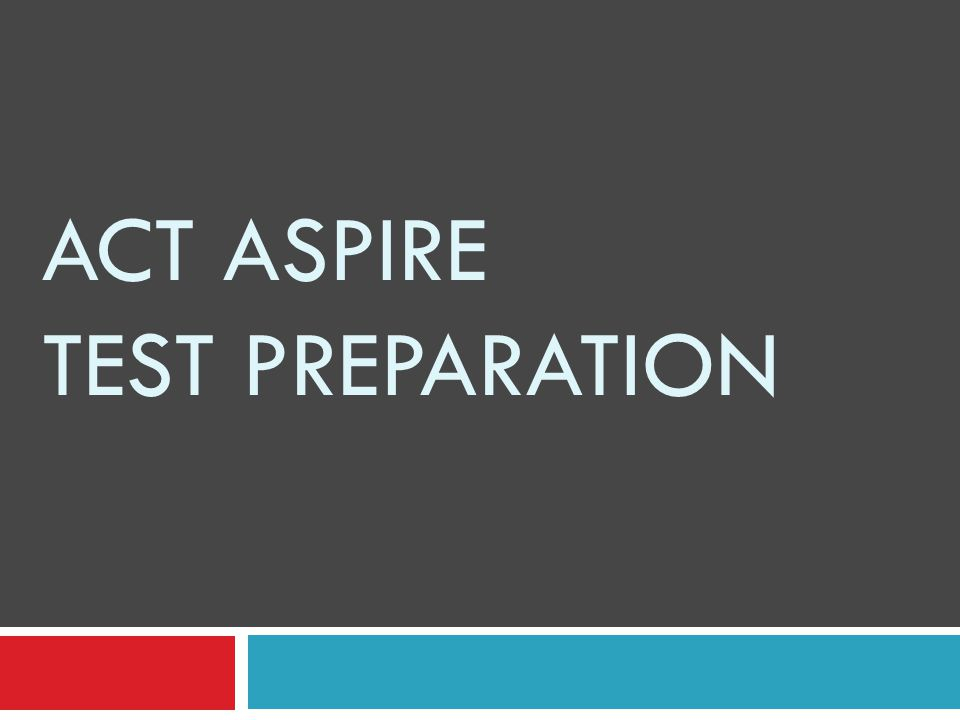 http://www.discoveractaspire.org/ What is the ACT Aspire and where can I go to learn more about it?