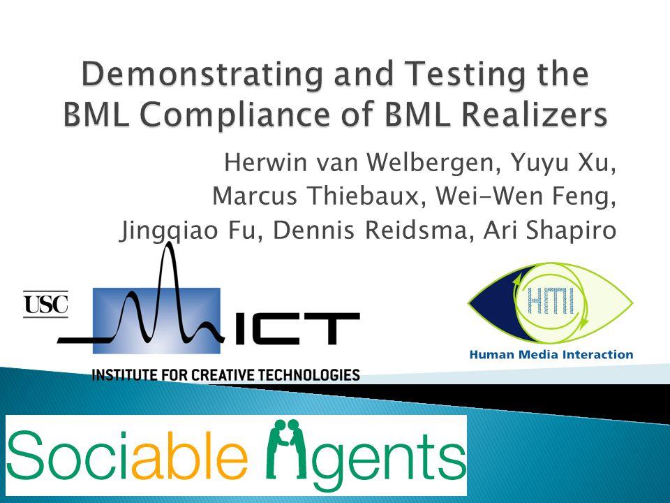 Herwin van Welbergen, Yuyu Xu, Marcus Thiebaux, Wei-Wen Feng, Jingqiao Fu, Dennis Reidsma, Ari Shapiro