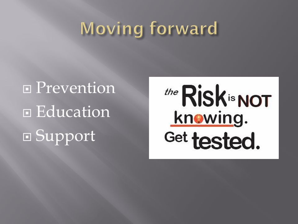  Prevention  Education  Support