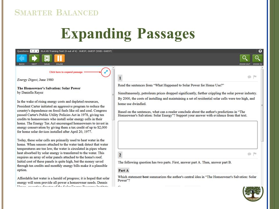 Expanding Passages S MARTER B ALANCED