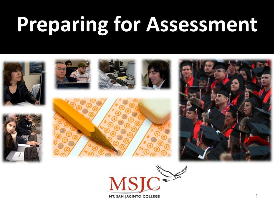 Preparing for Assessment 1