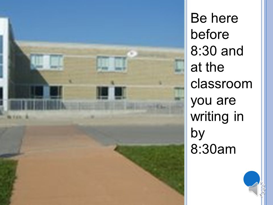 W HEN IS THE T EST The test is on Thursday March 27 th starting at 8:40 am.