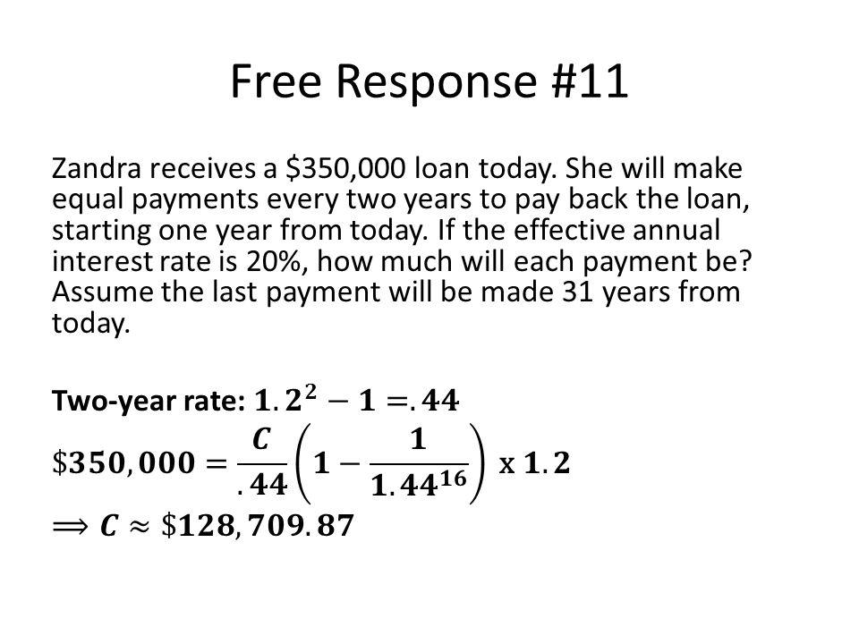 Free Response #11