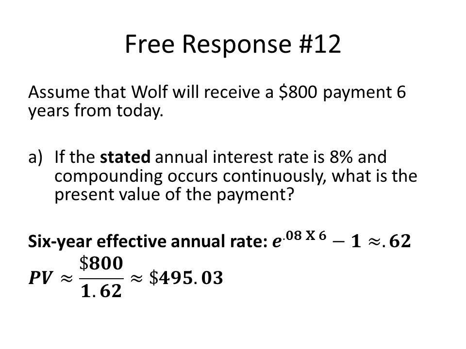 Free Response #12