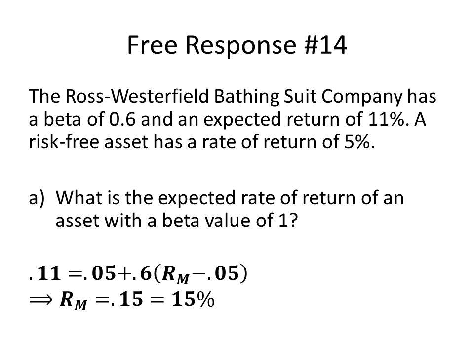 Free Response #14