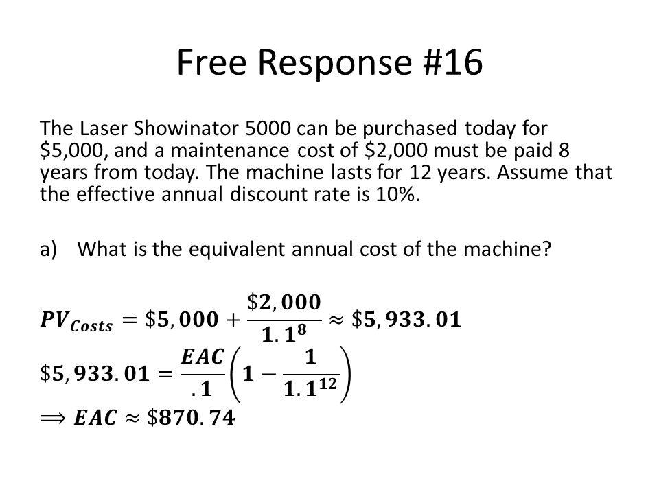 Free Response #16