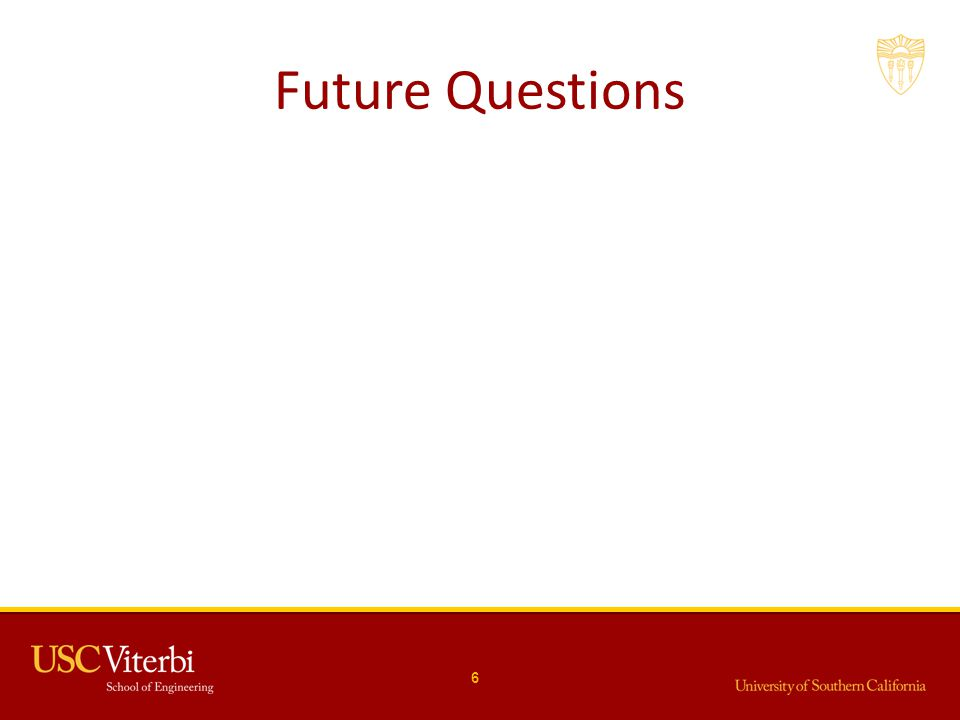 Future Questions 6