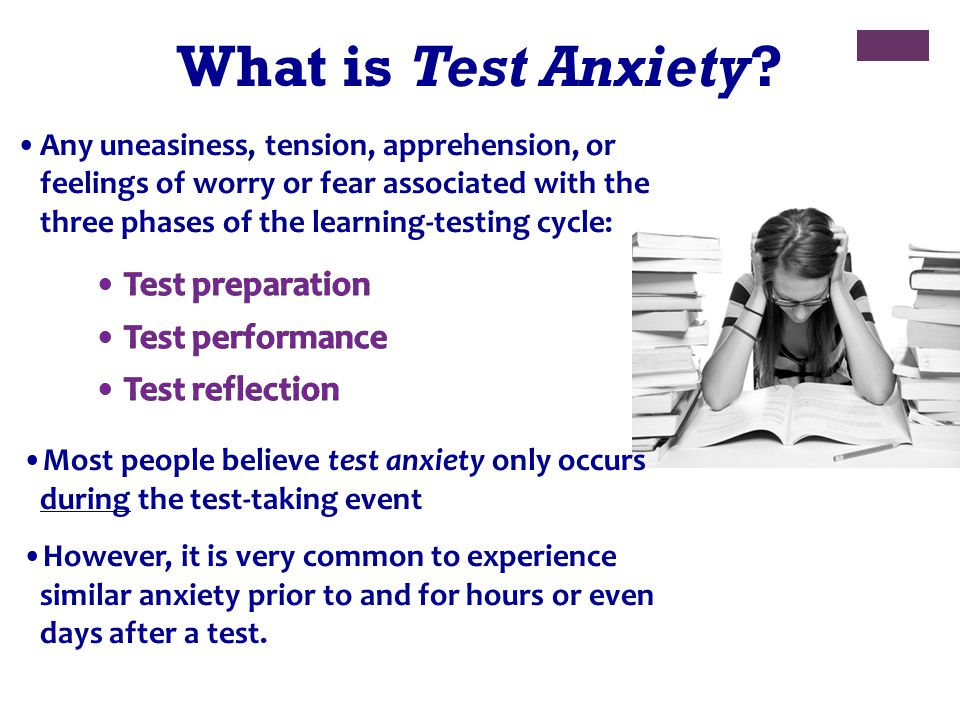 What is Test Anxiety?
