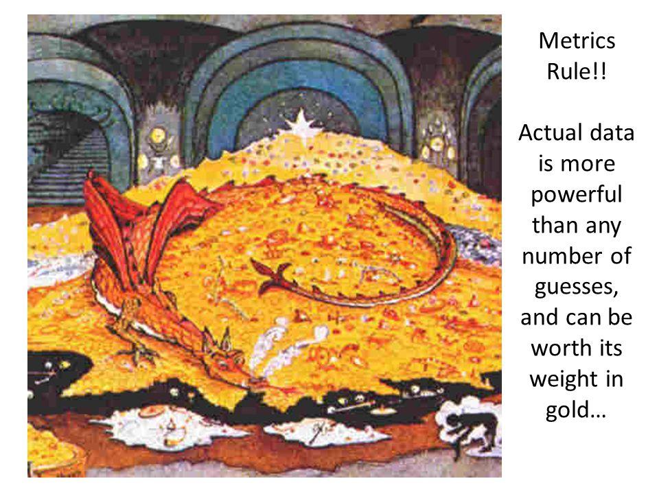 Metrics Rule!.