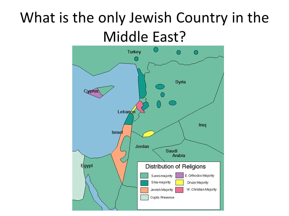 What is the only Jewish Country in the Middle East