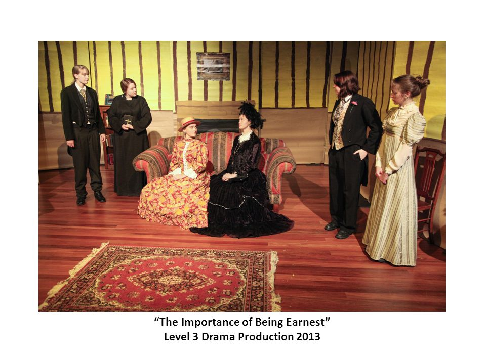 """The Importance of Being Earnest"" Level 3 Drama Production 2013"
