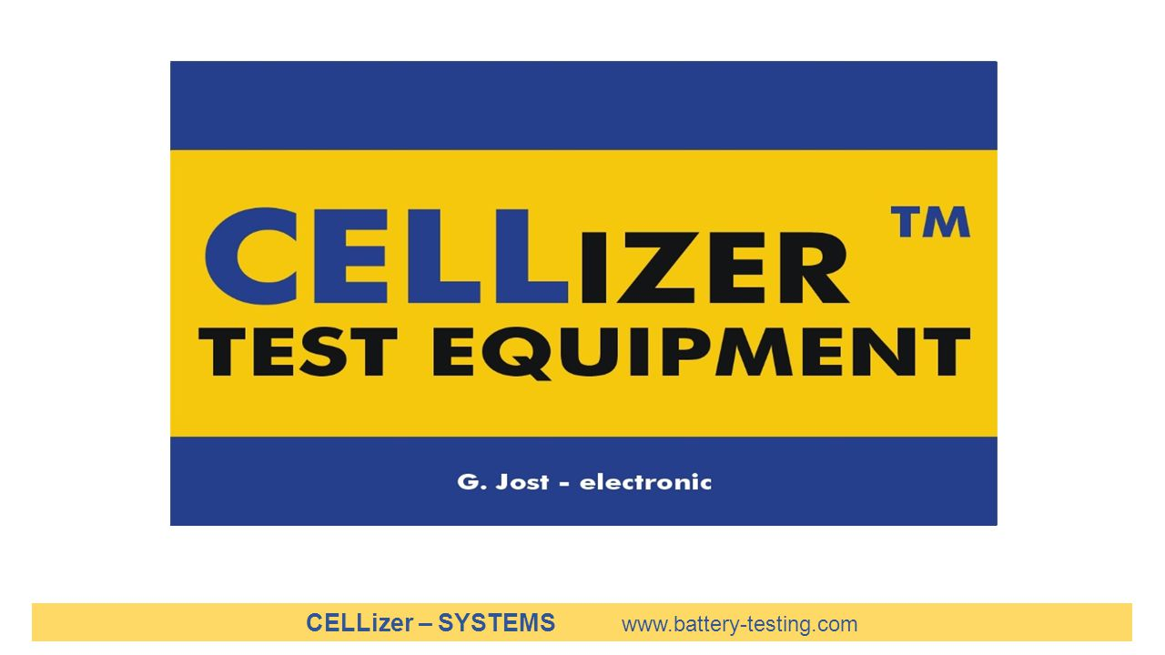 CELLizer – SYSTEMS www.battery-testing.com