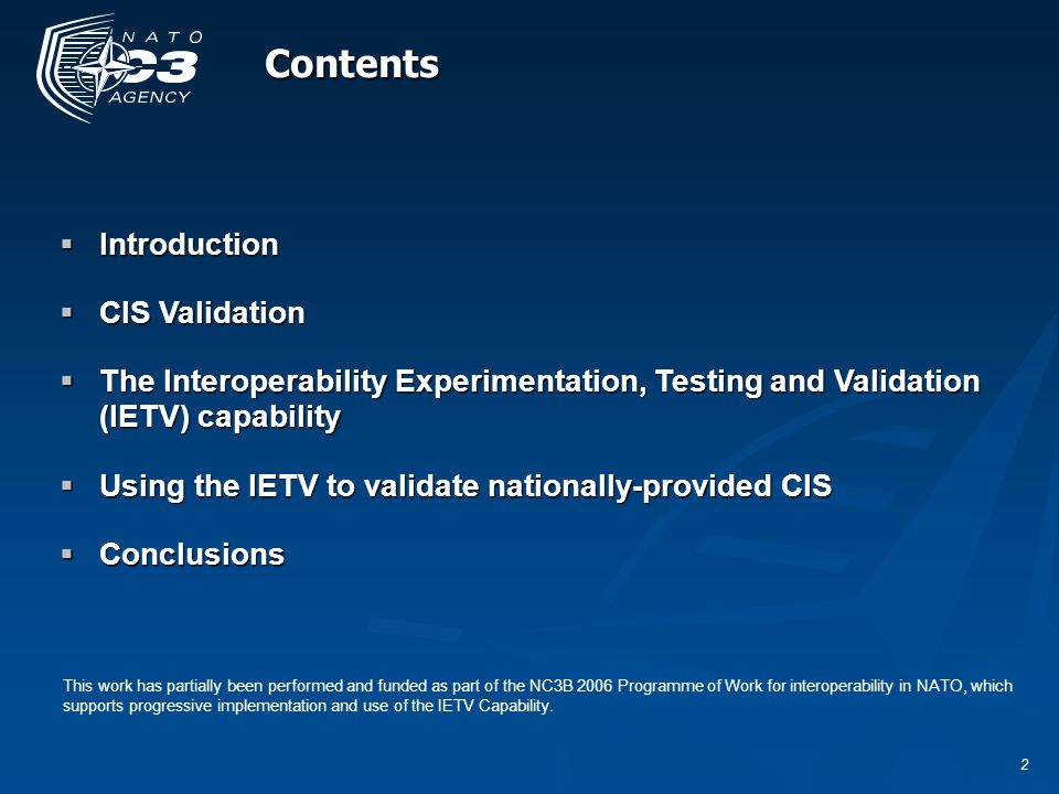 13 CIS Verification Assessment