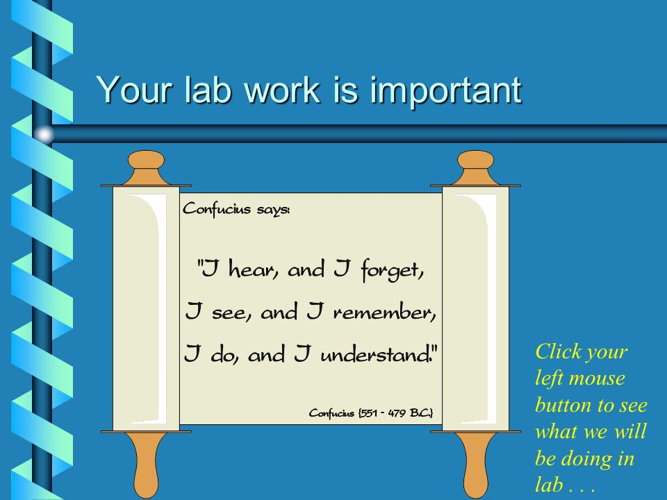 CST-133 Lab Introduction Click your left mouse button to proceed... © Delta College CST Faculty