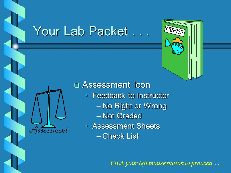 Your Lab Packet...
