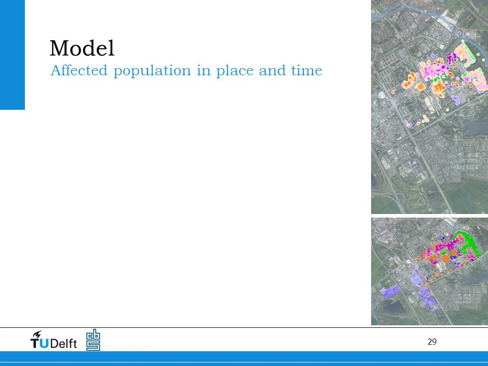 29 Affected population in place and time Model