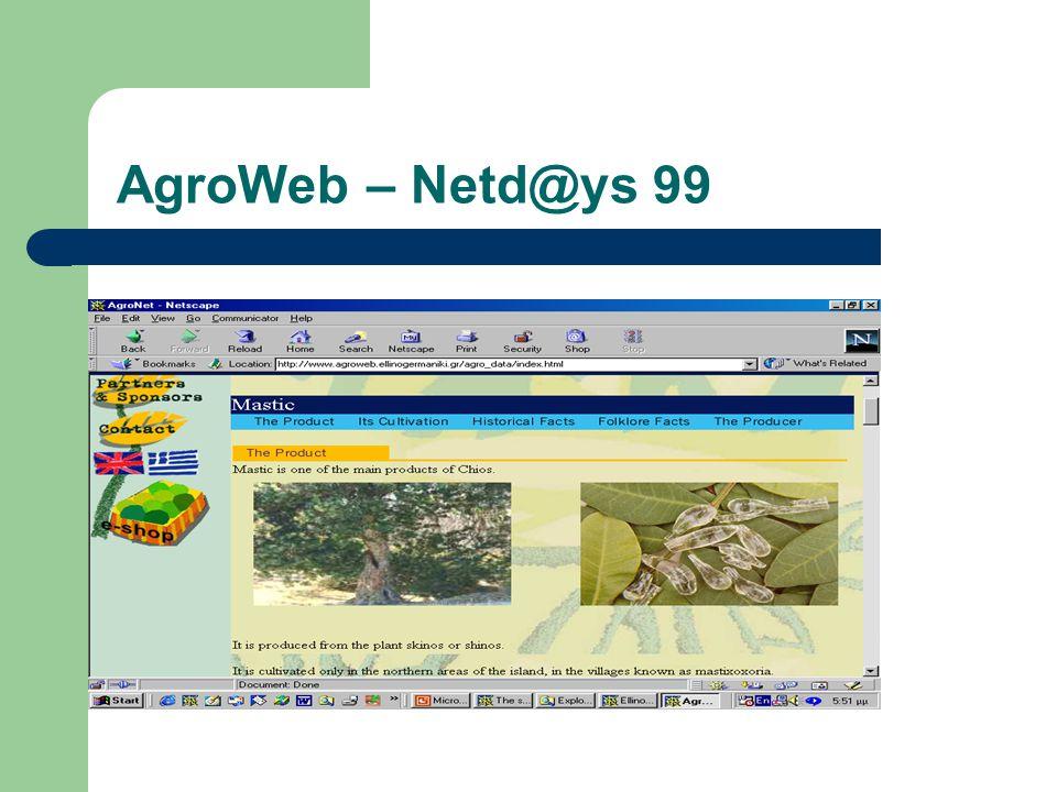 AgroWeb – Netd@ys 99
