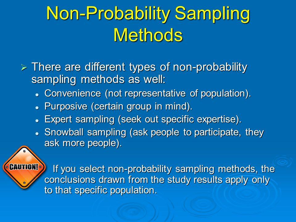 Probability Sampling Methods: Cluster  Cluster sampling.