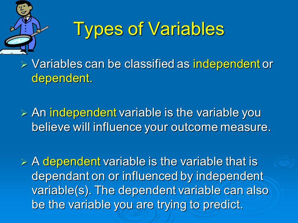  Descriptive Statistics: Describes  research findings E.g.