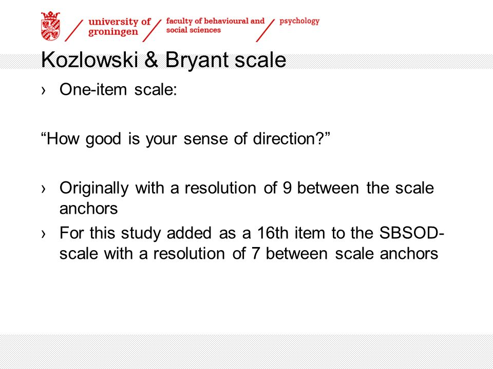 SBSOD-scale ›15-item scale with a resolution of 7 between the scale anchors