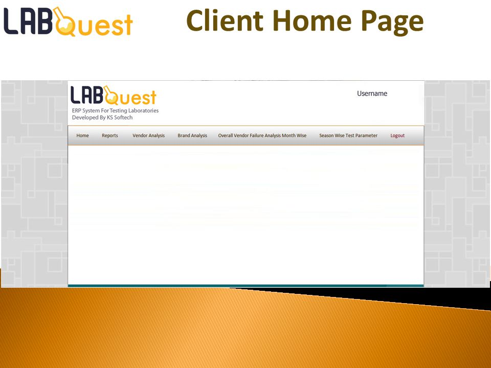 Client Home Page
