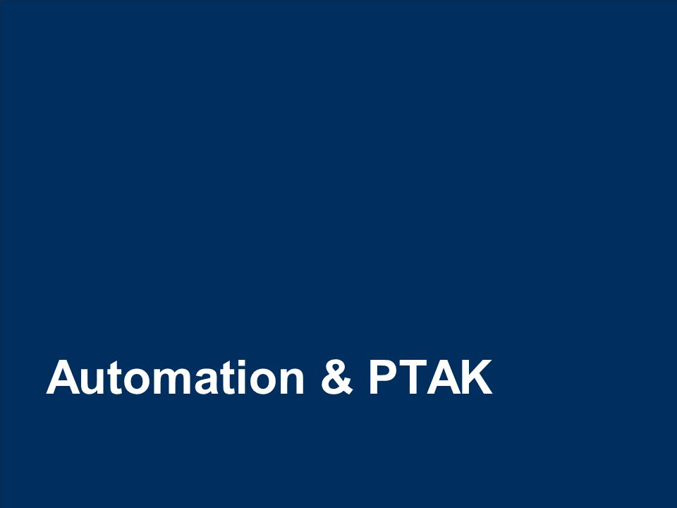 14 © Hexaware Technologies. All rights reserved. Automation & PTAK
