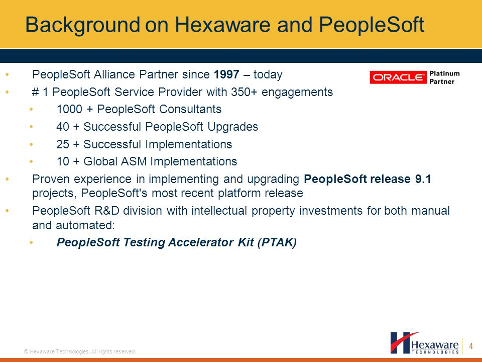 15 © Hexaware Technologies.All rights reserved.