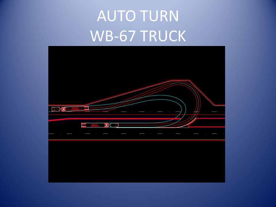 AUTO TURN WB-67 TRUCK