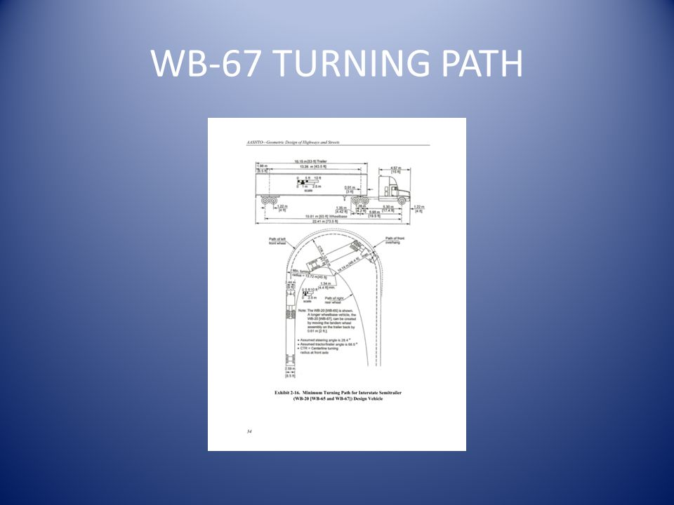 WB-67 TURNING PATH