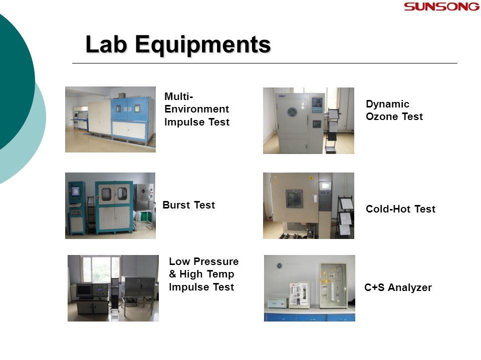 Lab Equipments Multi- Environment Impulse Test Dynamic Ozone Test Burst Test Cold-Hot Test Low Pressure & High Temp Impulse Test C+S Analyzer