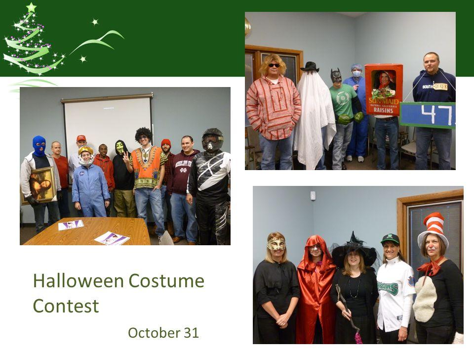 Halloween Costume Contest October 31