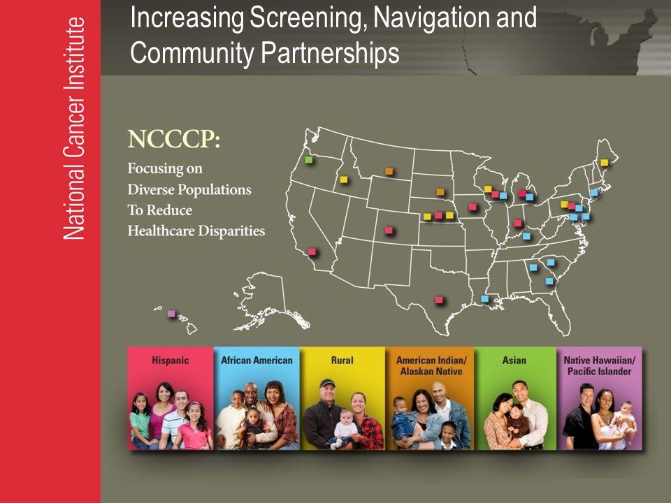 Increasing Screening, Navigation and Community Partnerships