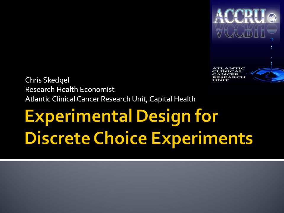  %ChoiceEff optimizes design subject to specified constraints:  Candidate design (usually FF)  Number of runs (# of choice tasks)  Model to be estimated (main effects, interactions)  Expected β's (huh?)  4 principles of efficient design:  Orthogonality, level balance, minimal overlap, utility balance 12