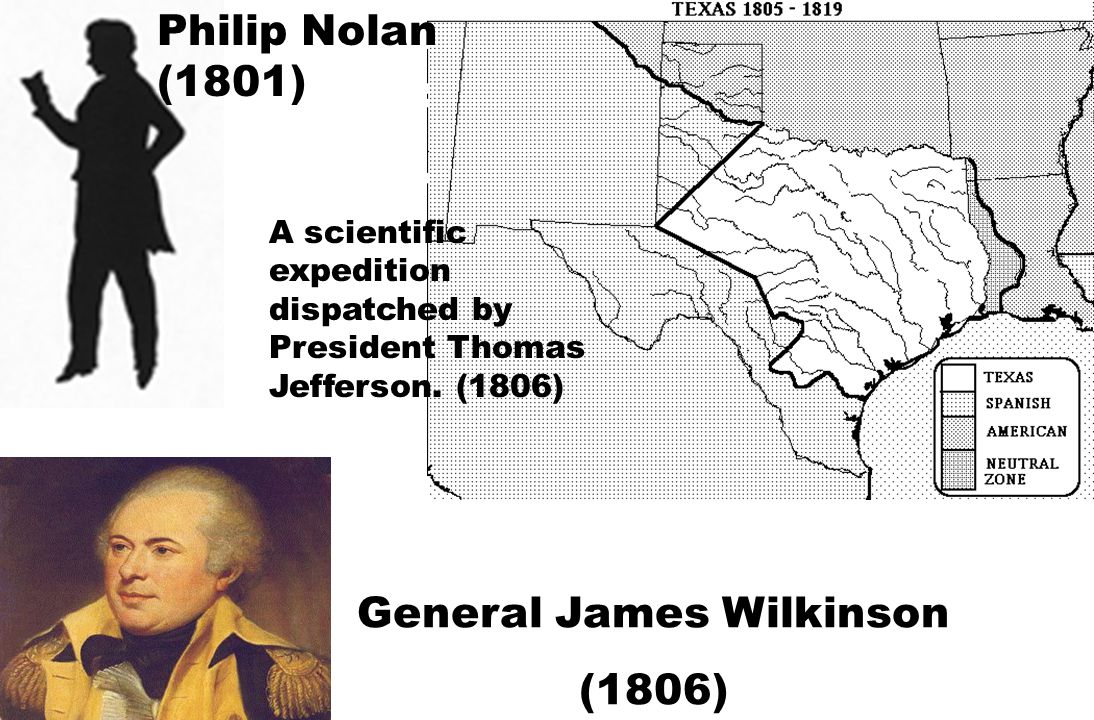 In 1819, Dr.James Long and a force of fellow filibusters attempted to wrest Texas from Mexico.