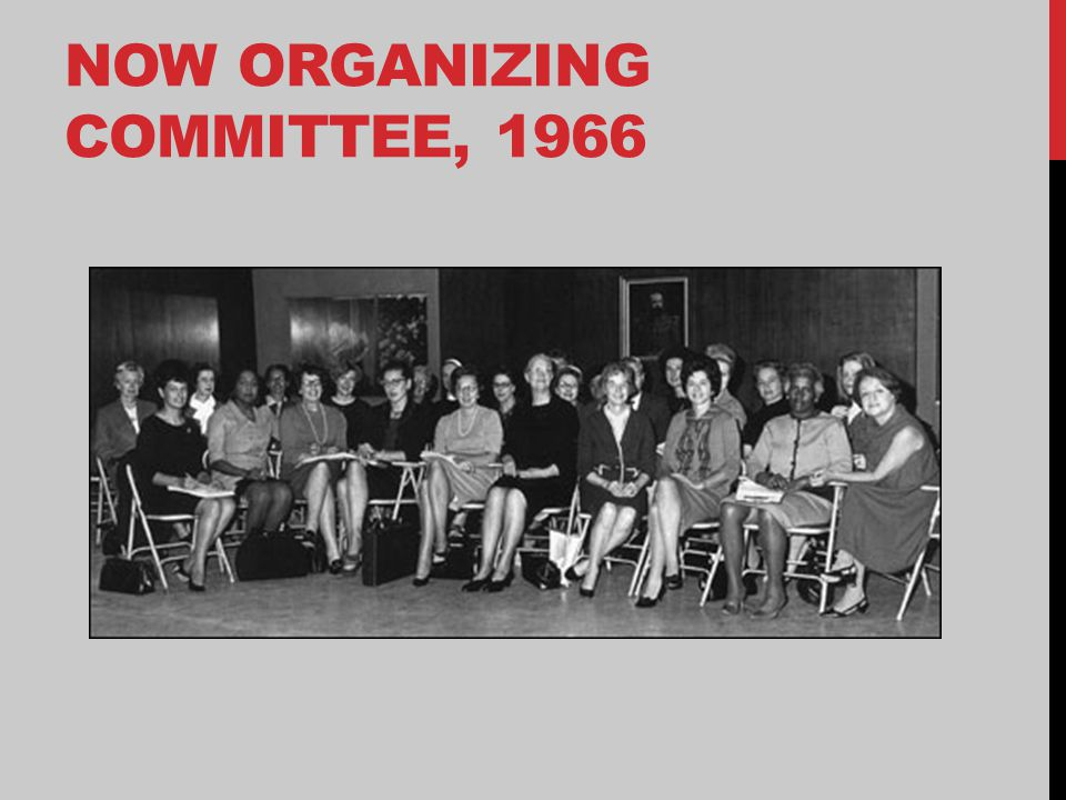 NOW ORGANIZING COMMITTEE, 1966