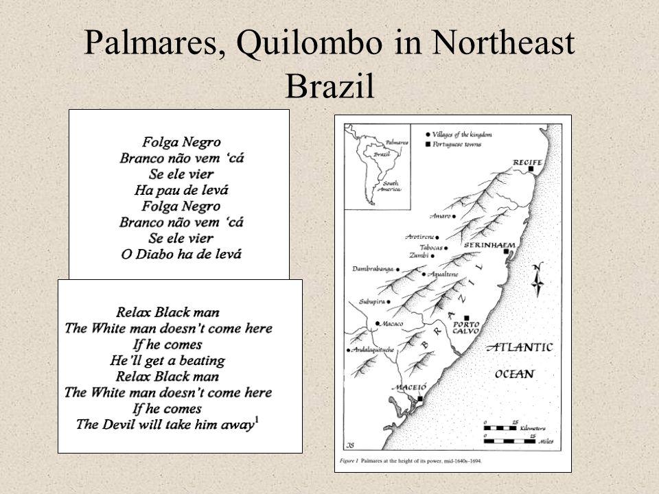 Palmares, Quilombo in Northeast Brazil