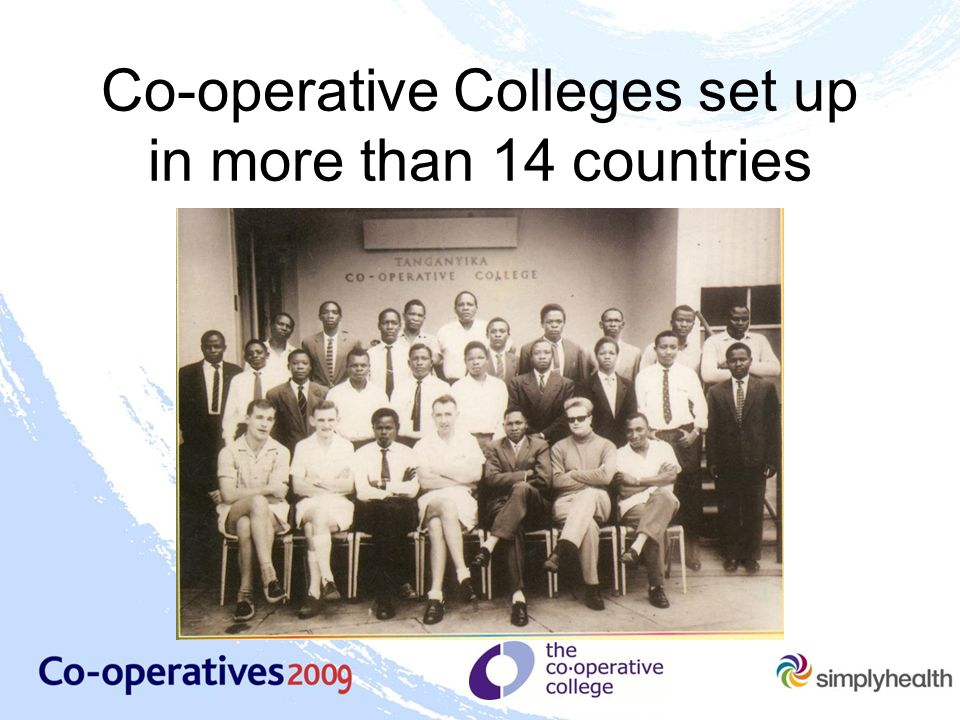 Co-operative Colleges set up in more than 14 countries