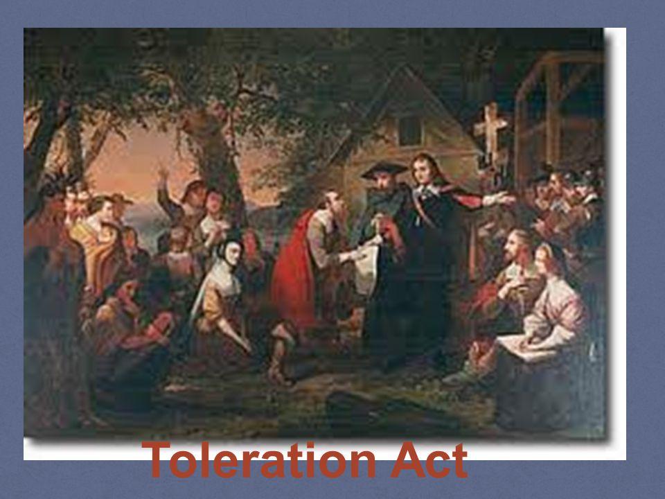 Toleration Act