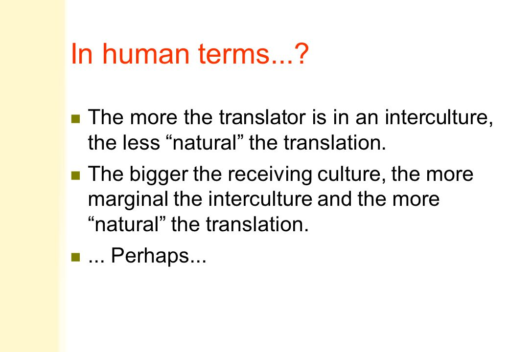 In human terms....