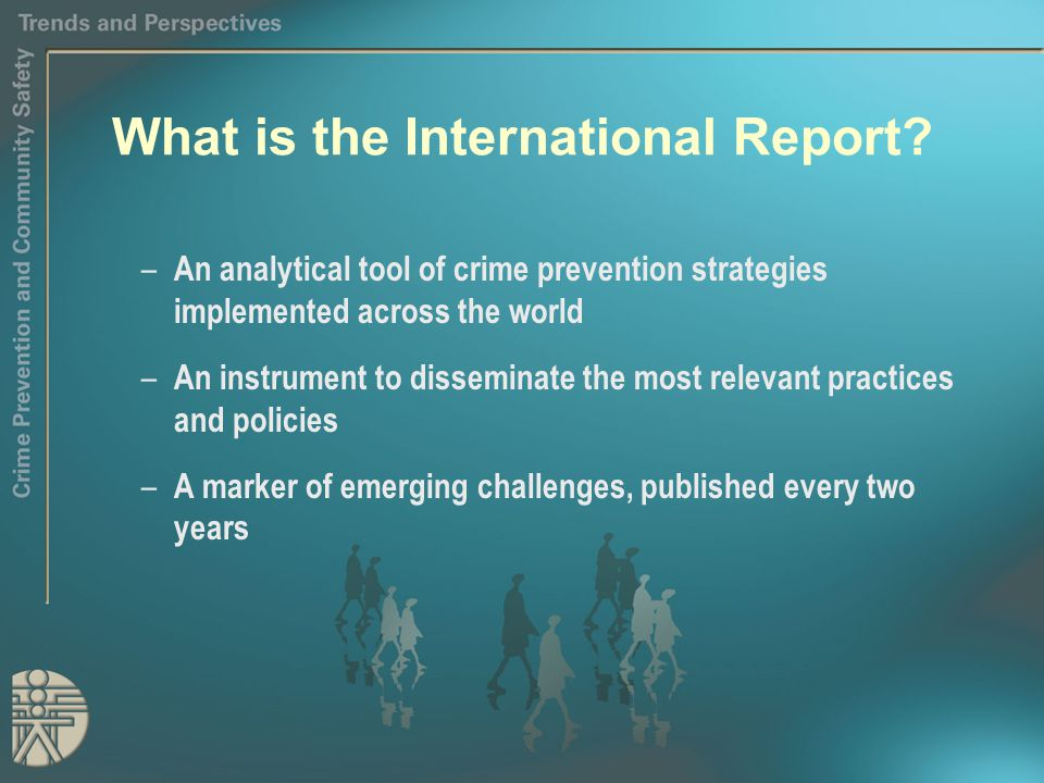 What is the International Report.